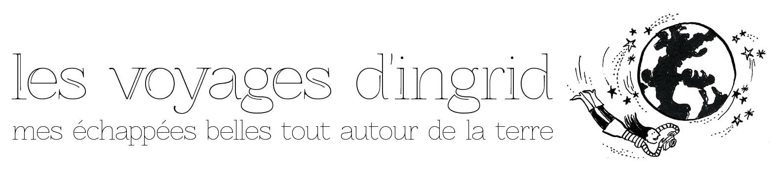 Les voyages d'Ingrid Logo